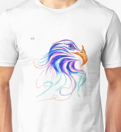 Eagle Eye Pen and Ink Drawing Unisex T-Shirt