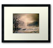 Winter Afternoon... Framed Print