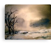 Winter Afternoon... Canvas Print