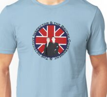 The British Government & The Detective Inspector Unisex T-Shirt