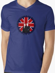 The British Government & The Detective Inspector Mens V-Neck T-Shirt