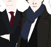Sherlock, John, Greg, Mycroft Sticker