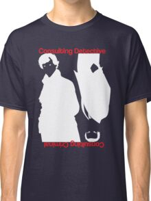 Consulting Detective, Consulting Criminal Classic T-Shirt