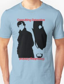 Consulting Detective, Consulting Criminal #2 Unisex T-Shirt