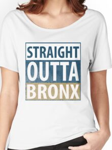 Straight Outta BRONX Women's Relaxed Fit T-Shirt