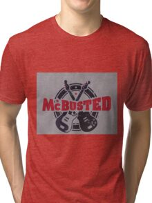 McBusted logo take of The Mighty Ducks Tri-blend T-Shirt