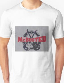McBusted logo take of The Mighty Ducks T-Shirt