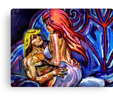 Sci-fi sex Canvas Print