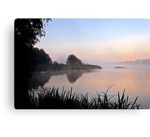 A moment before Day-break Canvas Print