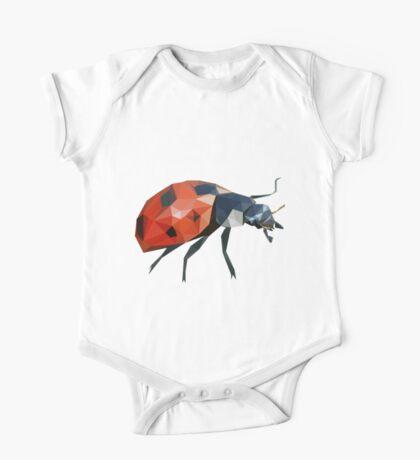 Low Poly Ladybird /  Ladybug One Piece - Short Sleeve