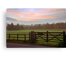 The picnic meadow Canvas Print