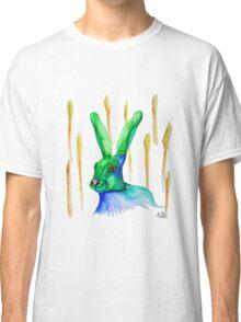 Rabbit sitting in a wheat field Classic T-Shirt