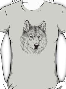 Arctic wolf face T-Shirt