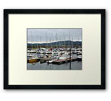 Lough Swilly Marina Framed Print