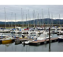 Lough Swilly Marina Photographic Print
