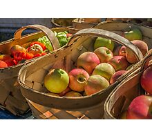 Autumn Bounty Photographic Print
