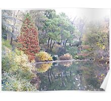 Central Park, Autumn Colors Poster
