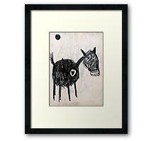 Horsey 2 Framed Print