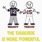 Brady Beats Tebow by iniguez619
