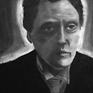 Charcoal Walken by lindsshinn