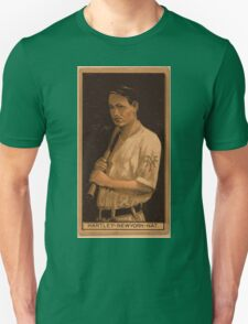 Benjamin K Edwards Collection Grover Hartley New York Giants baseball card portrait Unisex T-Shirt