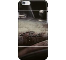 Plymouth Old Car Style iPhone Case/Skin