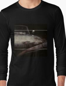 Plymouth Old Car Style Long Sleeve T-Shirt