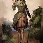 Steampunk Knight of Cups by Barbara Moore