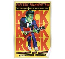 Electric Frankenstein Vancouver Canada Poster Poster