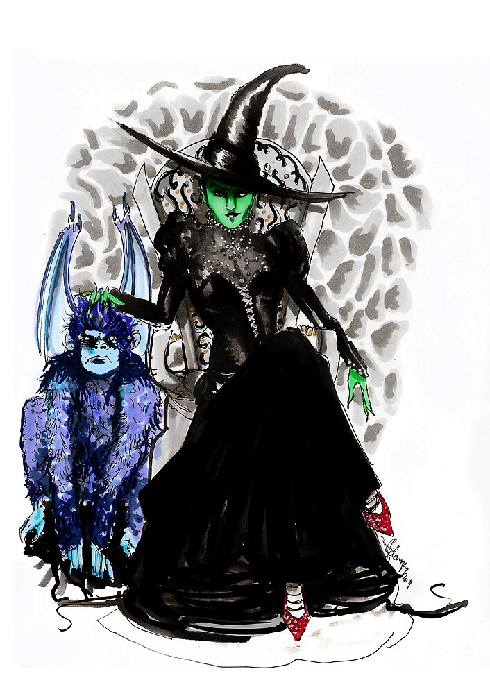 Elphaba The Wicked.  by adamwham