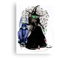Elphaba The Wicked.  Canvas Print