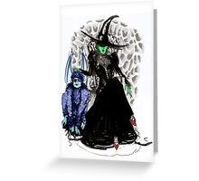 Elphaba The Wicked.  Greeting Card