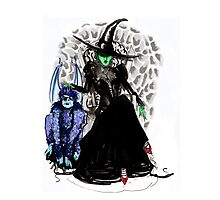 Elphaba The Wicked.  Photographic Print