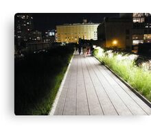 High Line, New York's Elevated Garden and Park Canvas Print
