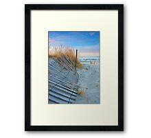 Dune Sunrise Framed Print