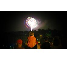 Fireworks for Children Photographic Print
