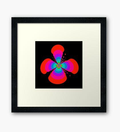 Silly Flower Framed Print