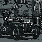 MG TC by Geoffrey Higges
