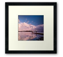 A Place for Reflection - Canada Bay, NSW Framed Print