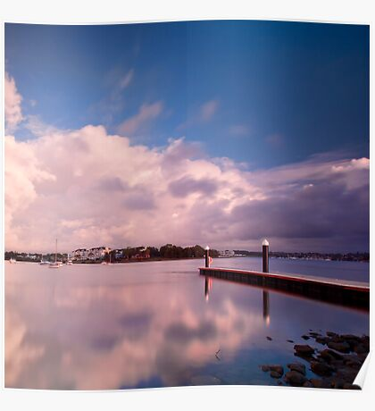 A Place for Reflection - Canada Bay, NSW Poster