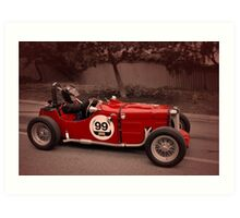 MG TC 1949 Art Print