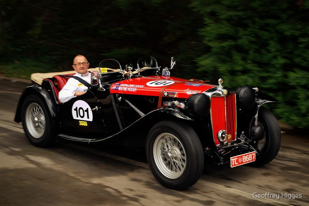 MG TC 1948 by Geoffrey Higges