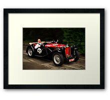 MG TC 1948 Framed Print