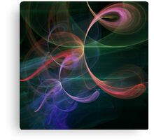 Futuristic Background Canvas Print