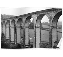 Calstock Viaduct, Cornwall Poster