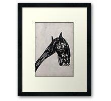 Horsey 1 Framed Print