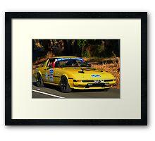 Mazda RX7 - 1981 Framed Print