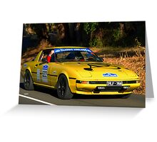 Mazda RX7 - 1981 Greeting Card