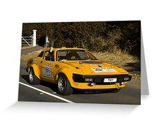 Triumph TR7 V8 - 1978 Greeting Card