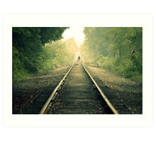 Journey On Art Print